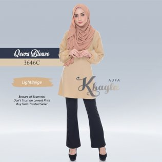 Qeera Blouse 3646C (LightBeige)