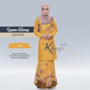 Lyanna Kurung KM1088 (Gold)