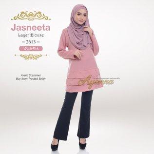 Jasneeta Layer Blouse 2613 (DustyPink)