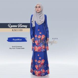 Lyanna Kurung KM1100 (RoyalBlue)