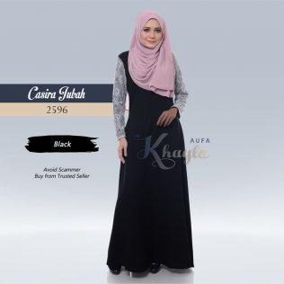 Casira Jubah 2596 (Black)