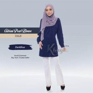 Adriani Pearl Blouse 3868 (DarkBlue)