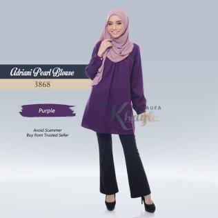 Adriani Pearl Blouse 3868 (Purple)