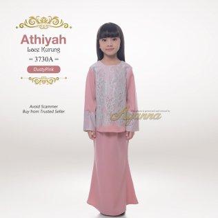 Athiyah Lace Kurung 3730A (DustyPink)