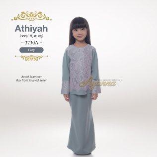 Athiyah Lace Kurung 3730A (Grey)