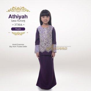 Athiyah Lace Kurung 3730A (Purple)