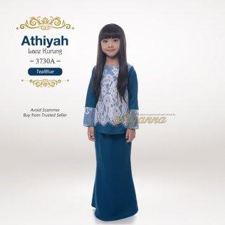 Athiyah Lace Kurung 3730A (TealBlue)
