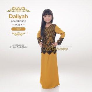 Daliyah Lace Kurung 2511A (Gold)