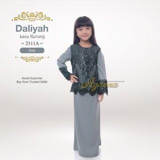 Daliyah Lace Kurung 2511A (Grey)
