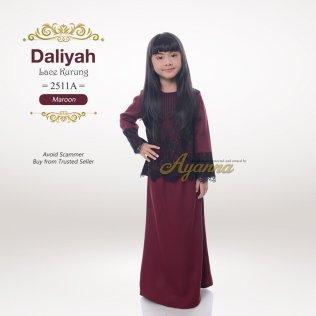 Daliyah Lace Kurung 2511A (Maroon)