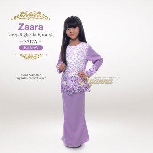 Zaara Lace & Beads Kurung 3717A (SoftPurple)