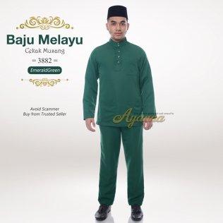 Baju Melayu Cekak Musang 3882 (EmeraldGreen)