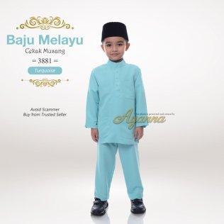 Baju Melayu Cekak Musang 3881 (Turquoise)