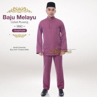 Baju Melayu Cekak Musang 3882 (DustyPurple)