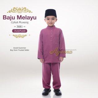 Baju Melayu Cekak Musang 3881 (DustyPurple)