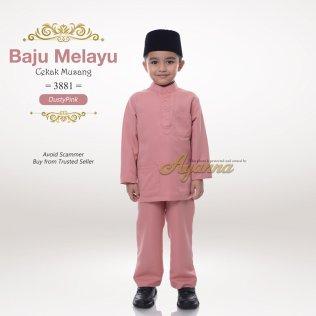 Baju Melayu Cekak Musang 3881 (DustyPink)