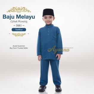 Baju Melayu Cekak Musang 3881 (TealBlue)
