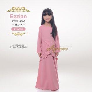 Ezzian Pearl Jubah 3859A (DustyPink)