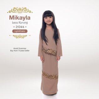 Mikayla Lace Kurung 2524A (LightKhakis)