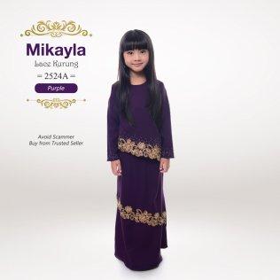 Mikayla Lace Kurung 2524A (Purple)
