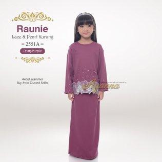 Raunie Lace & Pearl Kurung 2551A (DustyPurple)