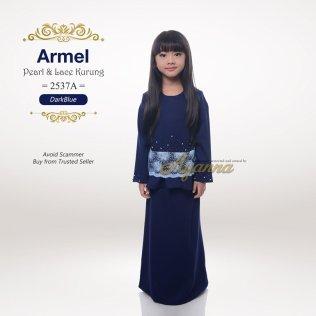 Armel Pearl & Lace Kurung 2537A (DarkBlue)