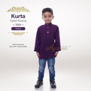 Kurta Cekak Musang 3884 (Purple)