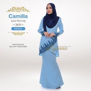 Camilla Lace Kurung 2635 (BabyBlue)