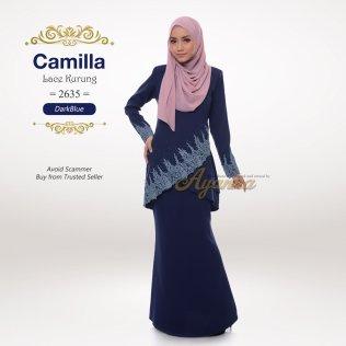 Camilla Lace Kurung 2635 (DarkBlue)