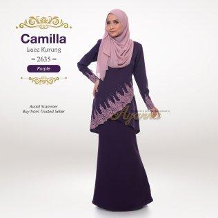 Camilla Lace Kurung 2635 (Purple)