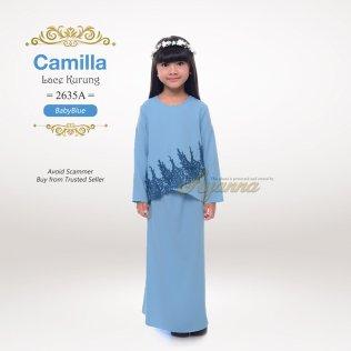 Camilla Lace Kurung 2635A (BabyBlue)