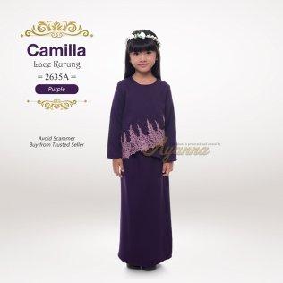 Camilla Lace Kurung 2635A (Purple)