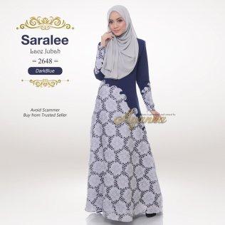 Saralee Lace Jubah 2648 (DarkBlue)
