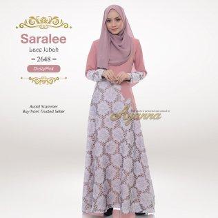 Saralee Lace Jubah 2648 (DustyPink)