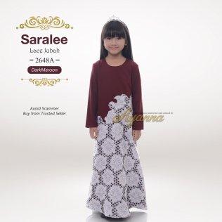 Saralee Lace Jubah 2648A (DarkMaroon)
