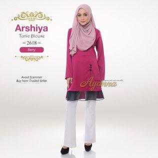 Arshiya Tunic Blouse 2618 (Berry)