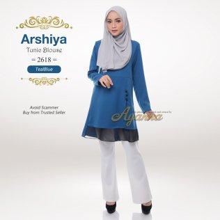 Arshiya Tunic Blouse 2618 (TealBlue)