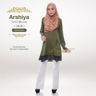 Arshiya Tunic Blouse 2618 (OliveGreen)