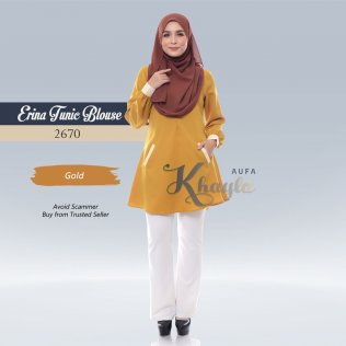 Erina Tunic Blouse 2670 (Gold)