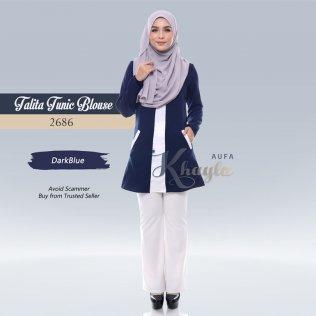 Talita Tunic Blouse 2686 (DarkBlue)