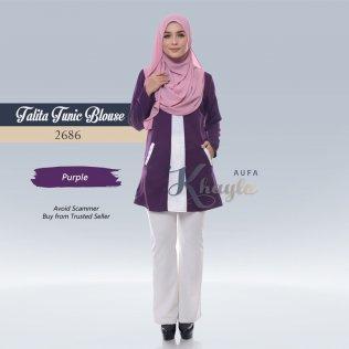 Talita Tunic Blouse 2686 (Purple)