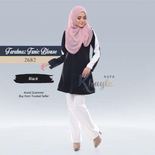 Farahnaz Tunic Blouse 2682 (Black)