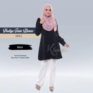 Hadiya Tunic Blouse 3885 (Black)