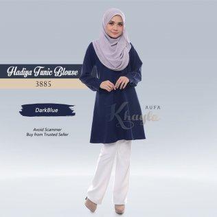 Hadiya Tunic Blouse 3885 (DarkBlue)