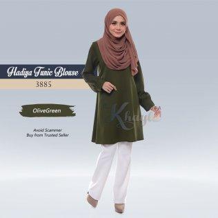 Hadiya Tunic Blouse 3885 (OliveGreen)