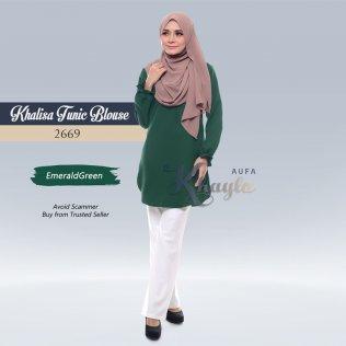 Khalisa Tunic Blouse 2669 (EmeraldGreen)