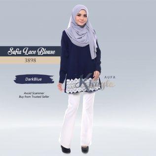 Sufia Lace Blouse 3898 (DarkBlue)