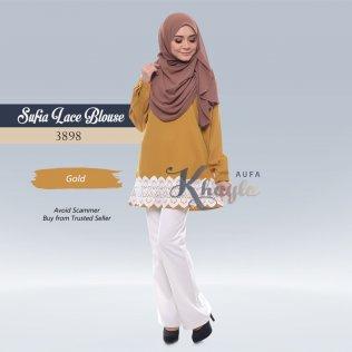 Sufia Lace Blouse 3898 (Gold)