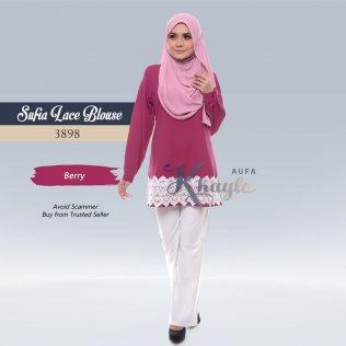 Sufia Lace Blouse 3898 (Berry)