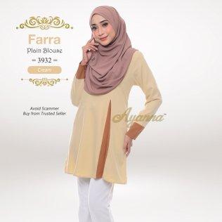 Farra Plain Blouse 3932 (Cream)